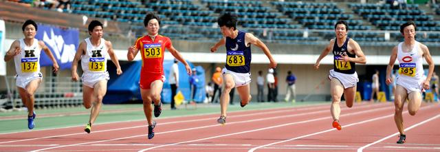 日本男子短距離総合