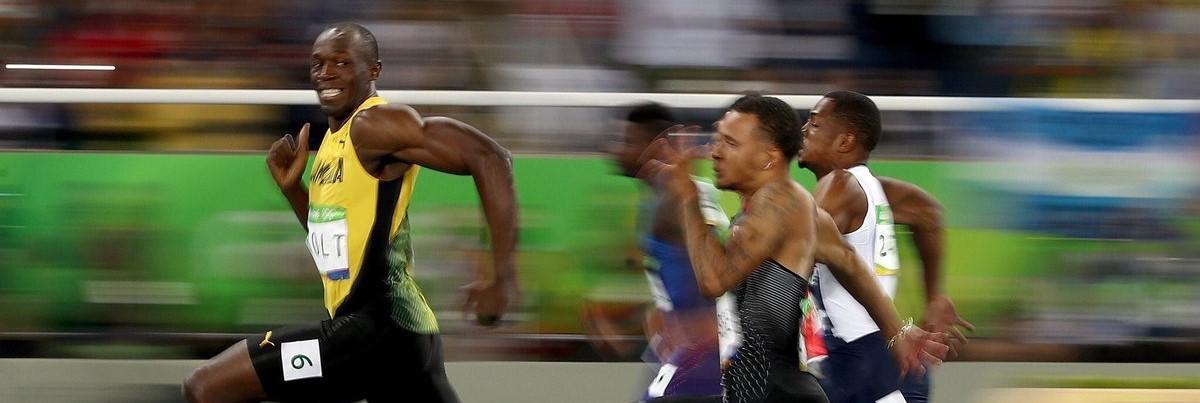 ボルトの100m走の世界記録wwwwwwwwwwww