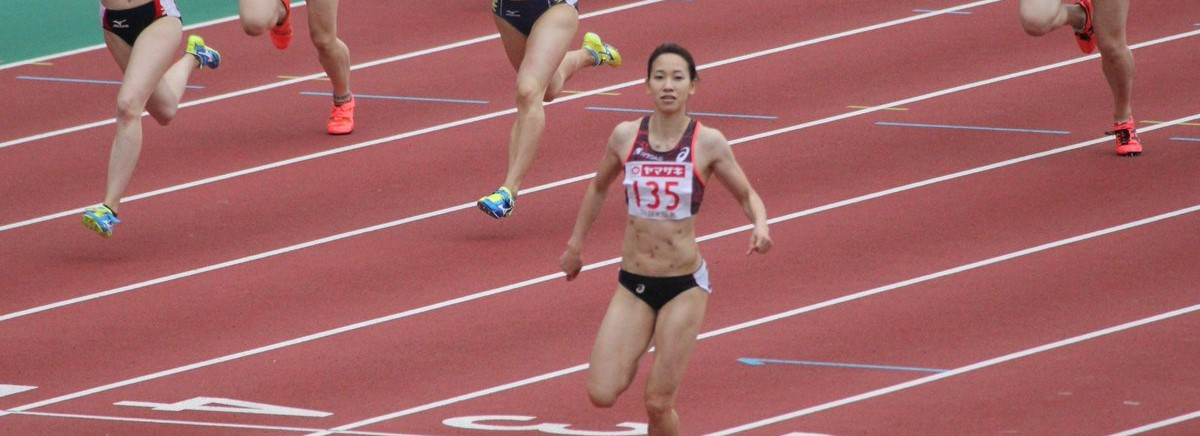 陸上女子100m走で日本記録を20秒以上更新