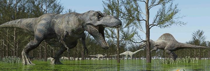 ティラノサウルスの走る速さwwwwwwwwwwwwwwww