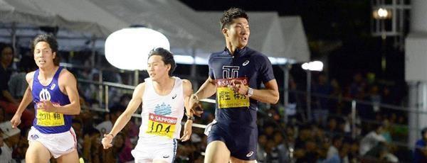 桐生祥秀が10秒05 今季4度目の10秒0台