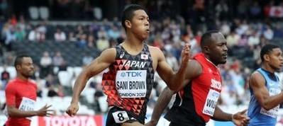 【陸上】サニブラウン、20秒52で200M準決勝進出/世界陸上