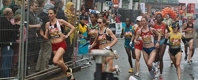 マラソン男女同日開催で経費削減/世界陸上