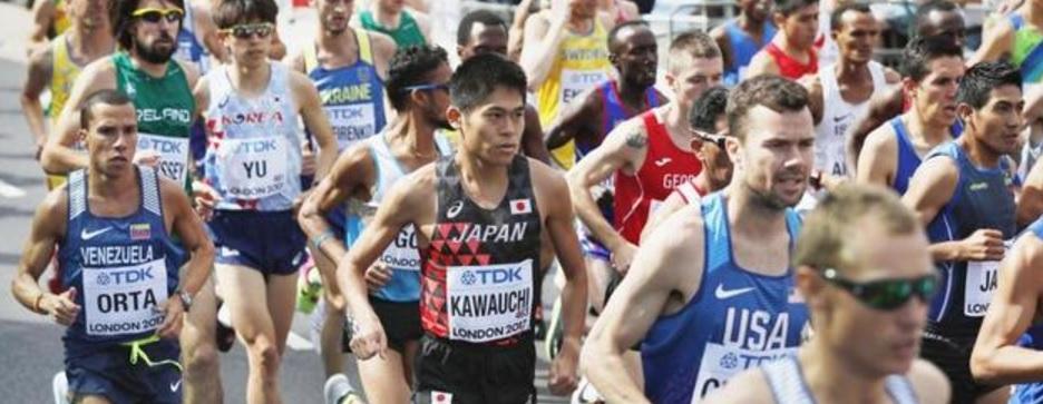 川内、自己最高の9位 転倒&給水失敗のアクシデントにめげず キルイが初V 男子マラソン/世界陸上