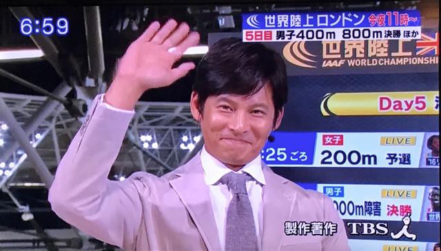 【芸能】織田裕二が「世界陸上」から消える説が浮上するザ・芸能界なワケ
