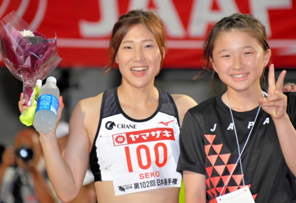 【陸上】日本選手権 女子100m 競馬好きで乗馬クラブ勤務の世古和が初優勝! 福島千里、市川華菜の元女王2人を破る
