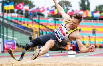 マルクス・レーム、幅跳び8m48で世界新! パラ陸上ヨーロッパ選手権