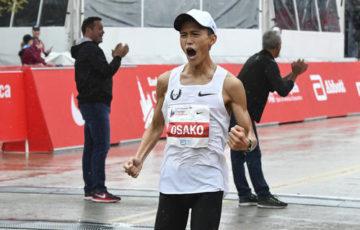 【陸上】大迫傑、シカゴで2時間5分50秒で日本新! 設楽悠太の記録を21秒更新し1億円獲得/マラソン