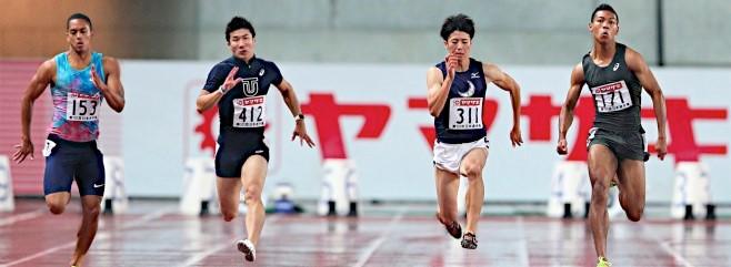 【陸上】日本選手権 男子100m決勝:サニブラウン ハキームが10.05秒で優勝