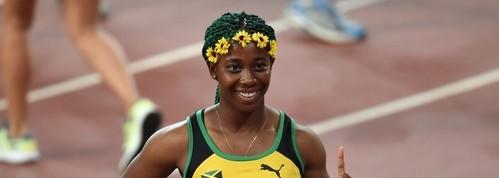 世界陸上女子100mで完全にふざけた髪型の選手がいた、しかもなぜか優勝!
