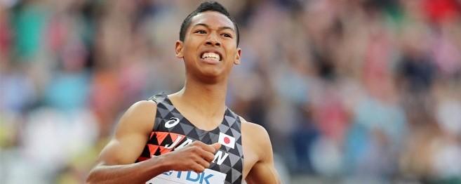 【速報】サニブラウン快挙!200m世界最年少で決勝進出