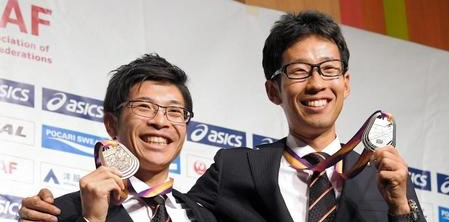 【陸上】ビックカメラのサングラス担当、世界選手権男子50キロ競歩で銅メダルの小林快「売り場にいます」とPR