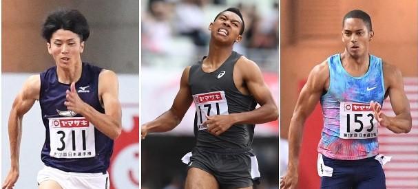 【世界陸上】日本勢全員準決勝進出の快挙【男子100m】
