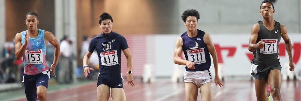 【陸上】桐生祥秀VS多田修平!いきなり9月に激突 日本インカレで9秒台狙う熱戦