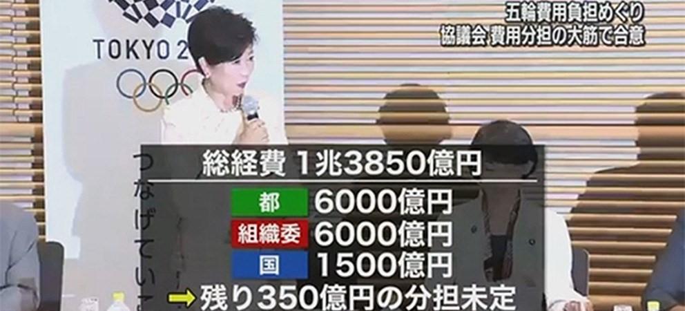 【東京五輪組織委】寄付金の募集、31日から開始 2千円から