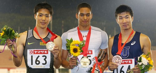 日本人がオリンピックの男子100mで金メダル獲ったら・・・