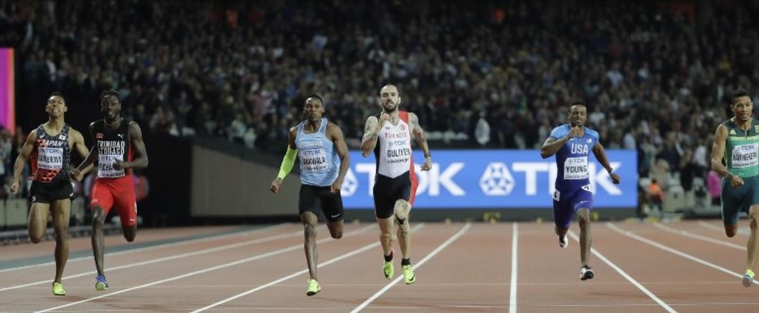 【陸上】サニブラウン、ハムが万全でなく最後伸びず 4×100mの出場も微妙に