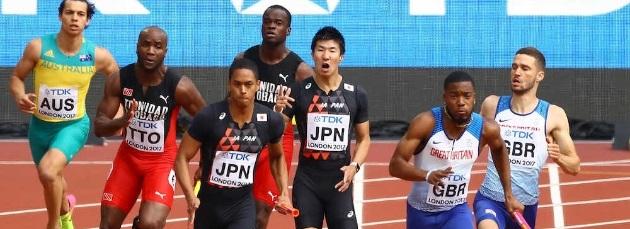 【世界陸上】桐生祥秀、ケンブリッジら男子リレー決勝進出