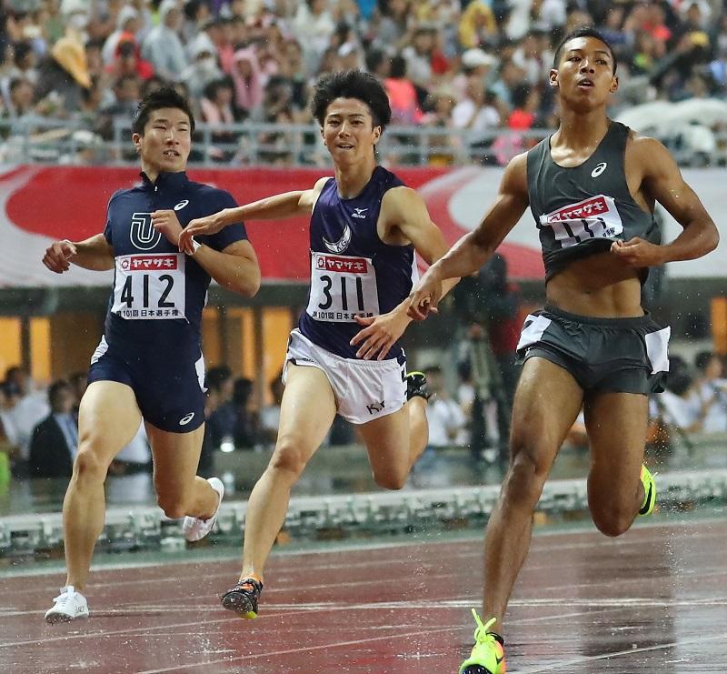 【陸上】<男子100m>10秒0台以内に桐生ら6人…今季10傑がスゴイ!朝原宣治氏「これは日本か!?」