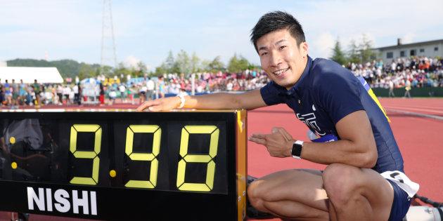 【全てが9並び】桐生祥秀H29年9月9日に9秒台 世界歴代99位、その他のパラメーターも全て「9」へ