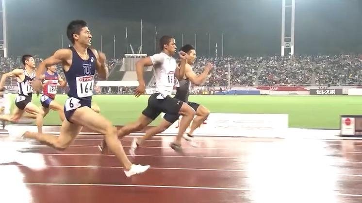 100m走日本歴代トップテンの血液型