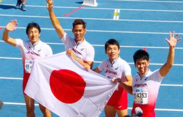 【陸上】武井壮が45歳クラス金メダル/世界マスターズ陸上