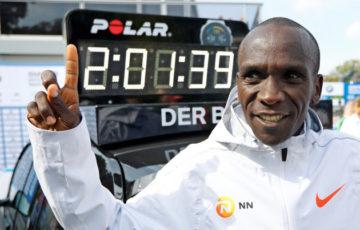 【陸上】ベルリンマラソン リオ五輪金メダリストのエリウド・キプチョゲ、2時間1分40秒の世界新記録 人類初の2時間1分台