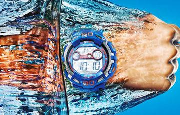 10気圧防水時計で水泳できる?