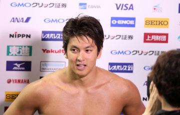 古賀淳也、4年資格停止へ 薬物違反で国際水泳連盟