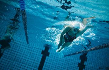 クロールで楽ゆっくり長く泳ぎたい!26ストローク目