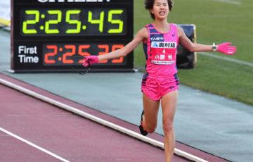 【陸上】大阪国際女子マラソン 小原怜が日本勢最高の2位 36歳の福士加代子は大森菜月と接触し、転倒&出血→棄権