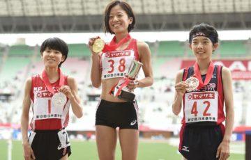 【陸上】日本選手権10000m 女子は鍋島莉奈が初優勝! 鈴木、新谷の元女王2人をラスト1周で差し切る 男子は田村和希が初優勝!