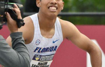 【陸上】100m サニブラウンが9秒99 米国の大会で日本選手2人目の9秒台