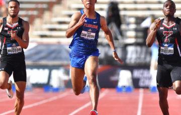 【陸上】サニブラウンが2冠に挑戦…陸上日本選手権エントリー発表 男子100メートルは史上初の9秒台決着も