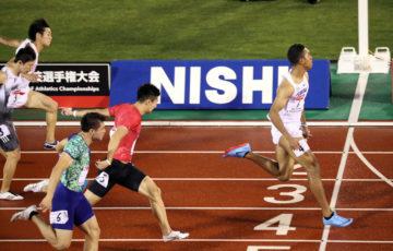 陸上 全日本選手権100M サニブラウン完勝10.02 桐生及ばず2着