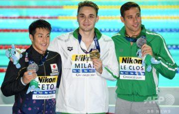 【世界水泳】瀬戸大也、銀メダル! 200Mバタフライ