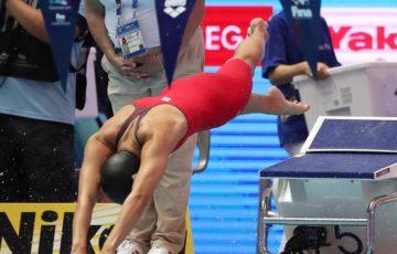 フライングの大本「焦った」 世界水泳混合Mリレー失格の日本